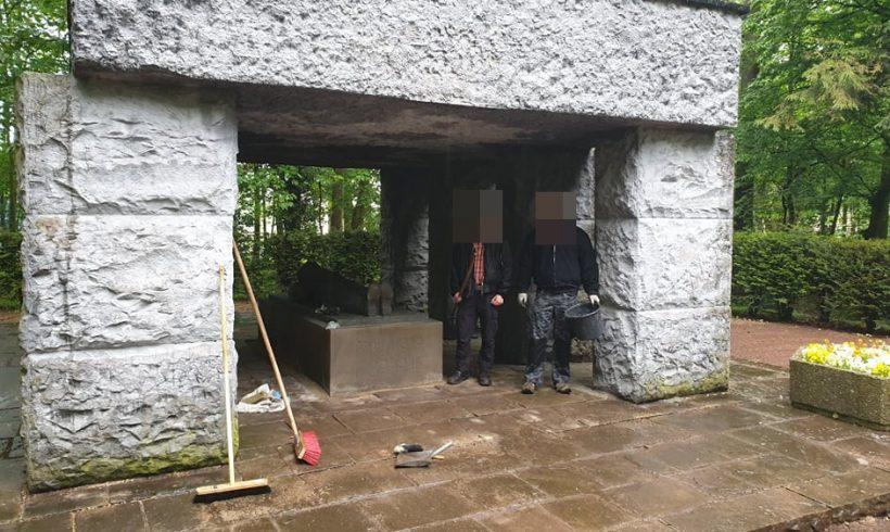 Denkmalpflege zum 8. Mai in Hamm