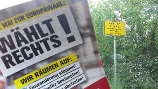 Europawahl 2019: Verteilaktionen in Ostsachsen durchgeführt!