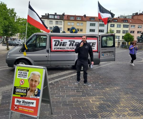 Hitziger Wahlkampf in Bremerhaven: Angriff auf Kundgebung abgewehrt, Polizei überfordert, Versammlungsfreiheit durchgesetzt!