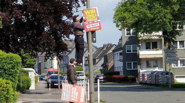 Aktionswochenende im Dortmunder Westen und Bochumer Osten durchgeführt!