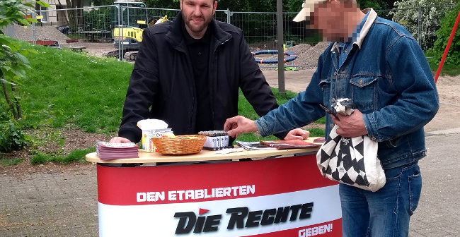 Dortmund: Infostand in Marten als Auftakt der letzten Wahlkampfwochen