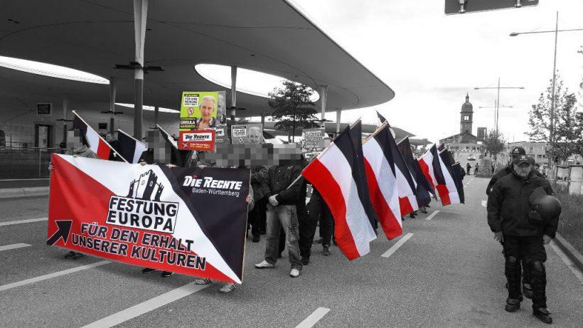 """Abschlußbericht zur Demonstration """"Festung Europa – Für den Erhalt unserer Kulturen"""" in Pforzheim"""