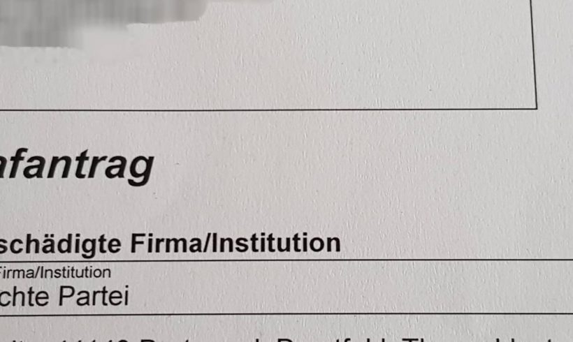 Auch im Rhein-Erft-Kreis stellt DIE RECHTE Strafanzeige gegen Plakatabreißer!