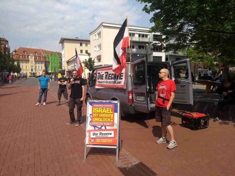 Nachtrag: Wahlkampfkundgebung in Lünen, mäßiges Ergebnis im Kreisgebiet