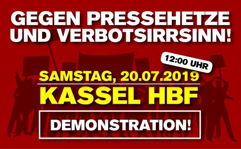 Kassel-Demo: Erfolgreiche Klage gegen Demo-Verbot – Sieg vor dem Verwaltungsgericht!