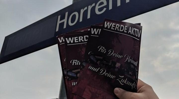 Flugblatt-Verteilung in Kerpen-Horrem erfolgreich durchgeführt!