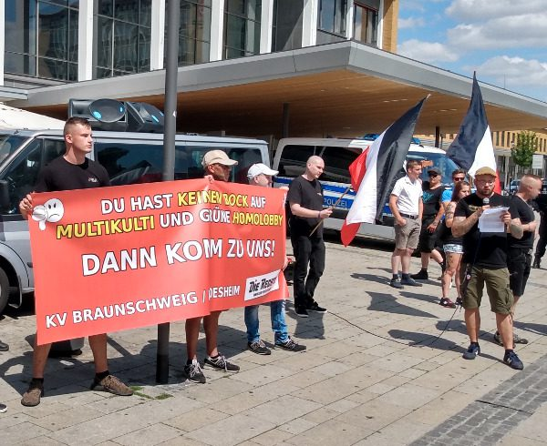 Danke Antifa: Aus linker Outingaktion in Bad Salzdetfurth wird nationale Werbung!