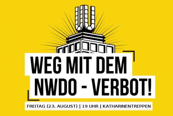 Erinnerung: Freitag (23. August) Kundgebung gegen Vereinsverbote in der Dortmunder Innenstadt!