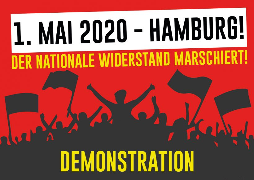 1. Mai 2020: Auf zur Demonstration nach Hamburg!