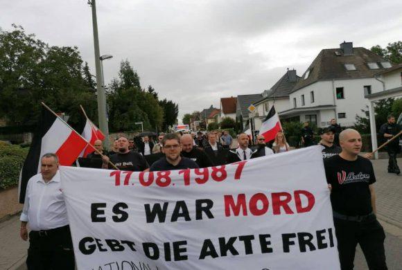 """Aktionsbericht zur Demonstration """"Mord verjährt nicht – Gebt die Akten frei!"""" in Ingelheim"""