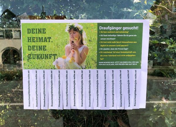 """Hildesheim: """"Deutschland braucht Dich!"""" – Stellenanzeigen aufgetaucht!"""