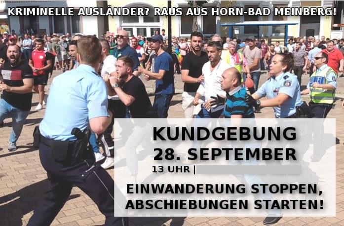 Diesen Sonnabend (28. September): Kommt zur Kundgebung nach Horn-Bad Meinberg!