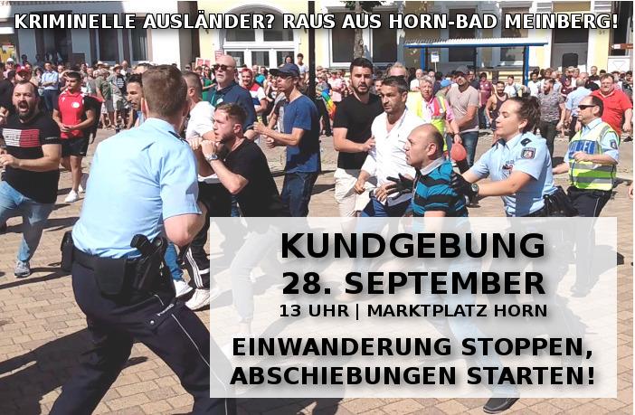 28. September: Auf nach Horn-Bad Meinberg, DIE RECHTE schafft Sicherheit, Recht und Ordnung!