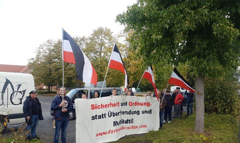 DIE RECHTE zeigt mit erneuter Kundgebung in Horn-Bad Meinberg Präsenz!