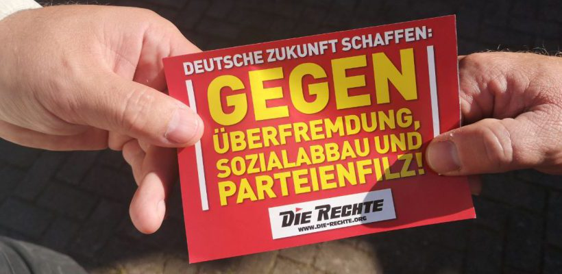 Erneut störungsfreier Infotisch in Duisburg-Neumühl durchgeführt