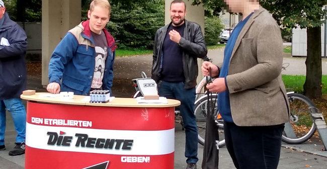 Dortmund-Dorstfeld: Infostand zum Graffitieinsatz durchgeführt