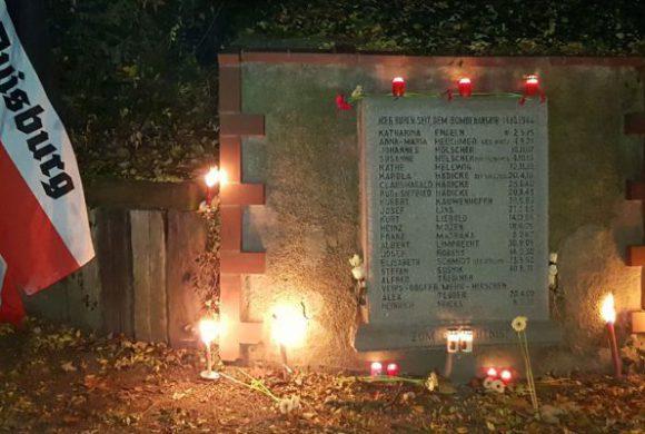 Duisburg gedenkt der Toten des alliierten Bombenterros