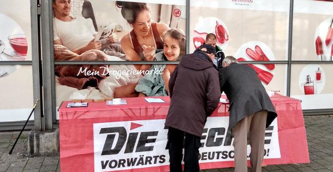 Dortmund: Erneuter Infostand beim Evinger Wochenmarkt durchgeführt