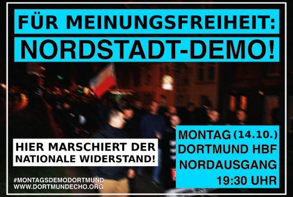 """""""Montag für Meinungsfreiheit"""": Dieter Riefling spricht am 14. Oktober 2019 in Dortmund!"""