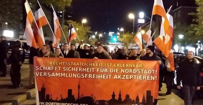 """Störungsfreie (vorläufige) Abschlußdemo der """"Montage für Meinungsfreiheit"""" durch die Dortmunder Nordstadt!"""