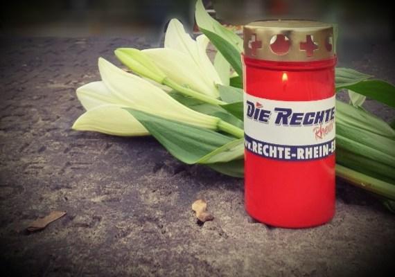 Rheinland: Volkstrauertag 2019 – Ein Licht für unsere Toten!