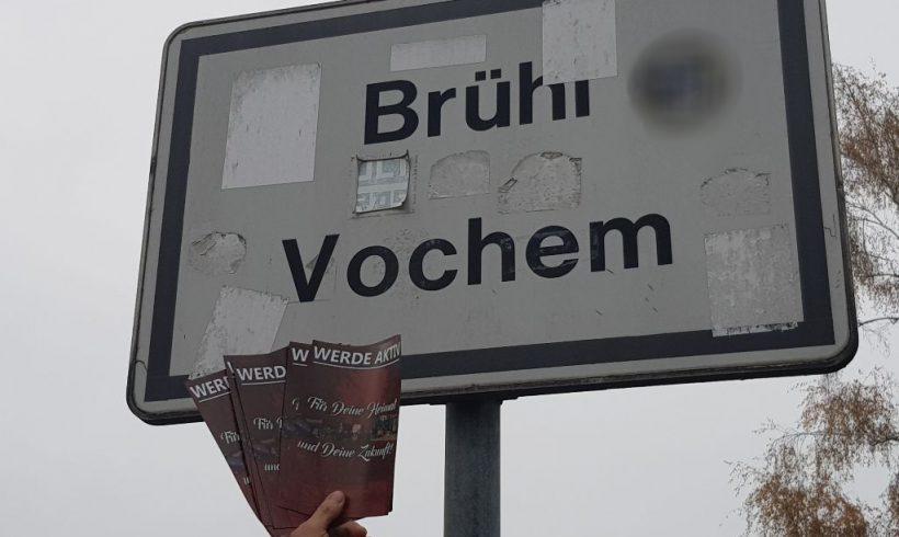 Erfolgreiche Flugblattaktion in Brühl-Vochem