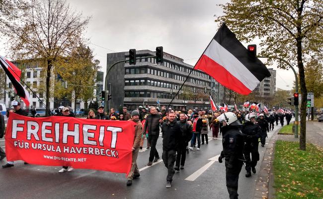 Geburtstagsdemo: Mehrere hundert Nationalisten fordern am 9. November Freiheit für Volksheldin Ursula Haverbeck!
