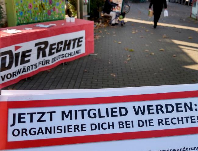DIE RECHTE vor Ort: Infostand in Dortmund-Körne durchgeführt!