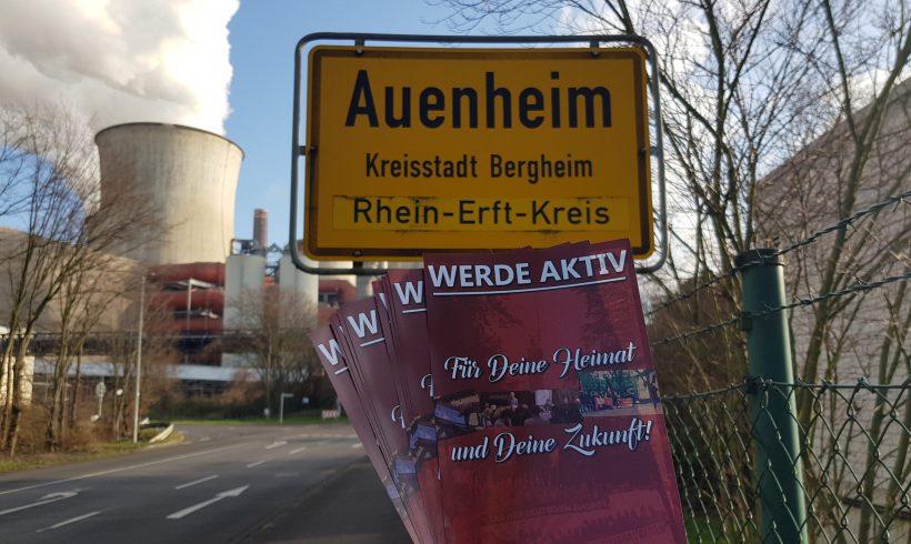 Erfolgreiche Flugblattaktion in Bergheim-Auenheim