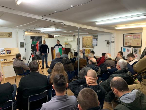 """Alliierter Bombenterror gegen Deutschland: Vortrag deutscher Aktivisten beim """"Bulgarischen Nationalbund (BGNS)""""!"""