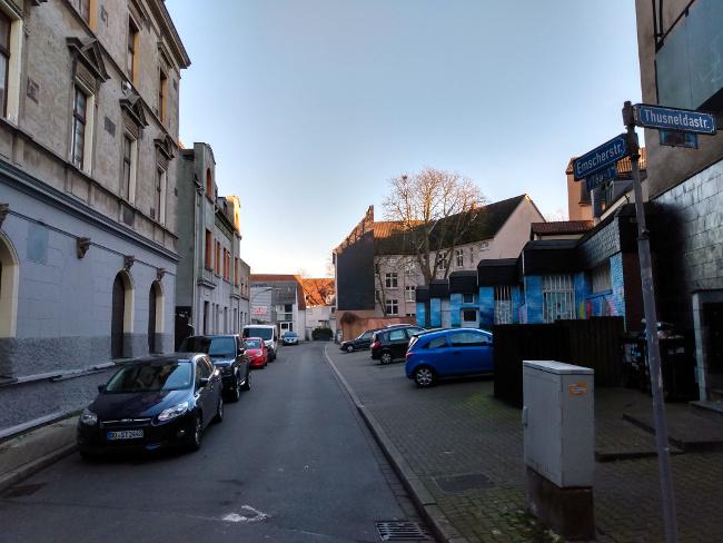 Videoüberwachung in der Emscherstraße: Lahme Polizei! (von Christian Worch)