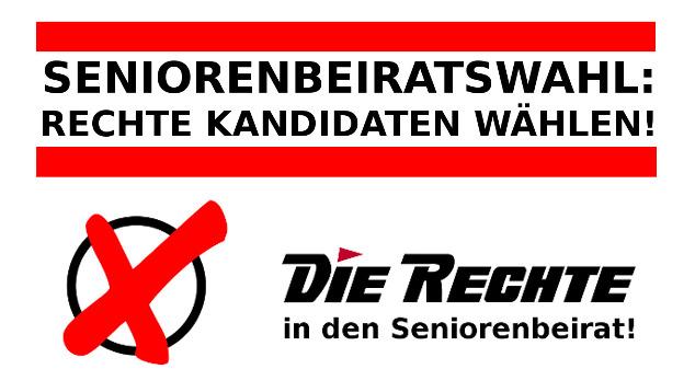 Wahlunterlagen werden verschickt: Jetzt DIE RECHTE in den Dortmunder Seniorenbeirat wählen!