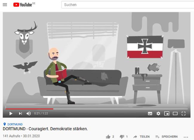 Stadt Dortmund produziert Anti-Rechts-Propagandavideo, die Kosten trägt der Steuerzahler!