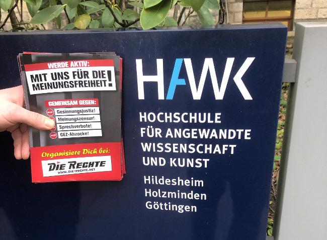 Hildesheim: DIE RECHTE zu Besuch in der HAWK