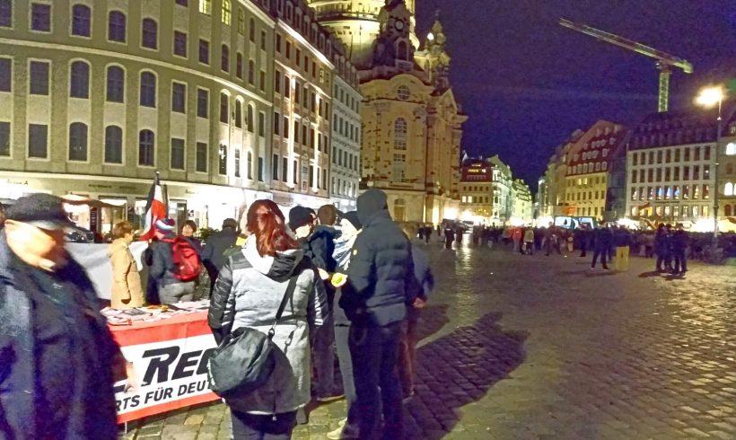 Nachtrag: Video zum DR-Infostand bei Pegida in Dresden!