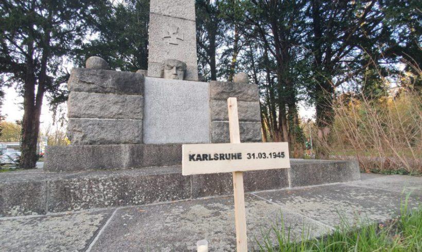 Gedenken an die Bombardierung Karlsruhe vor 75 Jahren