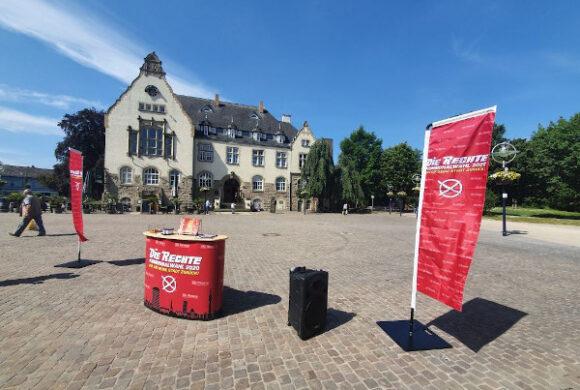 Infostand zum Kommunalwahlkampf in Aplerbeck durchgeführt