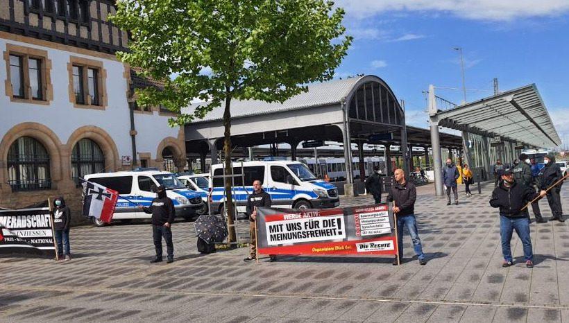 1. Mai – Kundgebung in Worms durchgeführt!