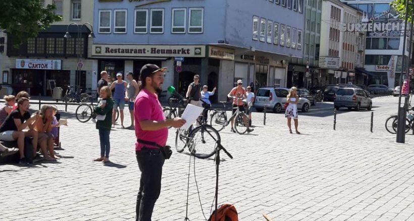 Köln: Aktivisten von Die Rechte unterstützen erneut die Proteste gegen die Corona-Beschränkungen