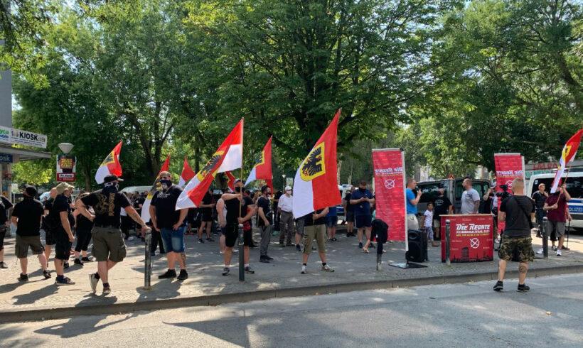 DIE RECHTE protestierte nach Vergewaltigungs-Skandal in der Nordstadt!