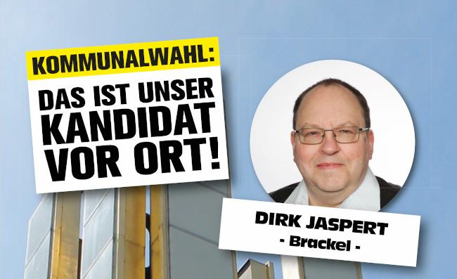 Kommunalwahl: Kandidaten für die Bezirke – Dirk Jaspert (Brackel)