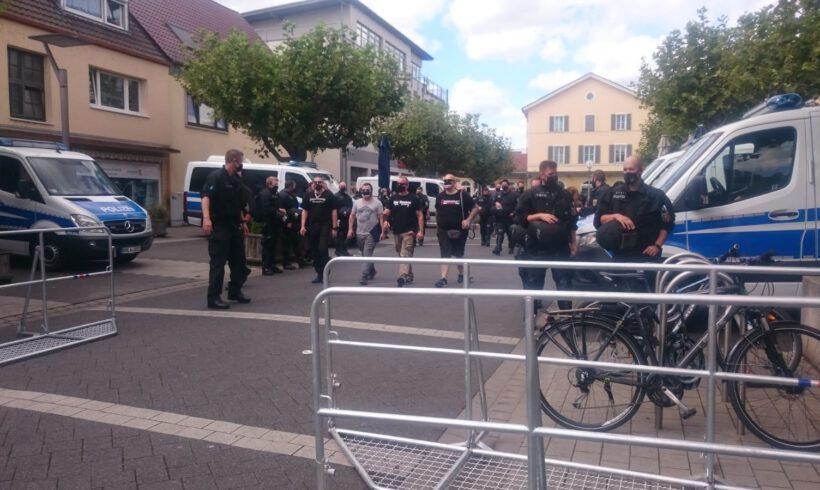 Kurzbericht über die Protestkundgebung am 22.08.20 in Ingelheim am Rhein!