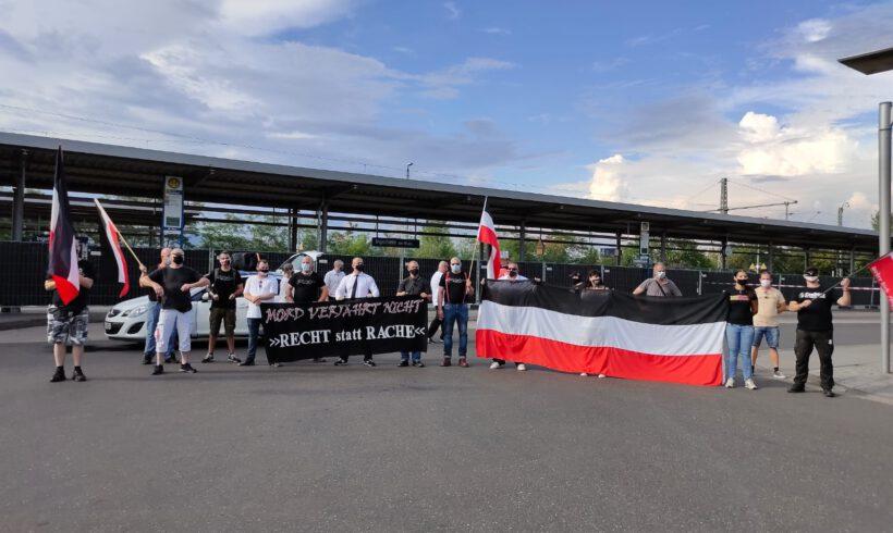 Kundgebung: Mord verjährt nicht! 15.August 2020 in Ingelheim