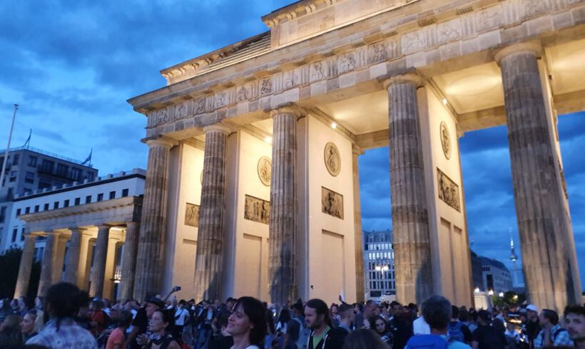 Corona Demo Berlin 29.08.2020