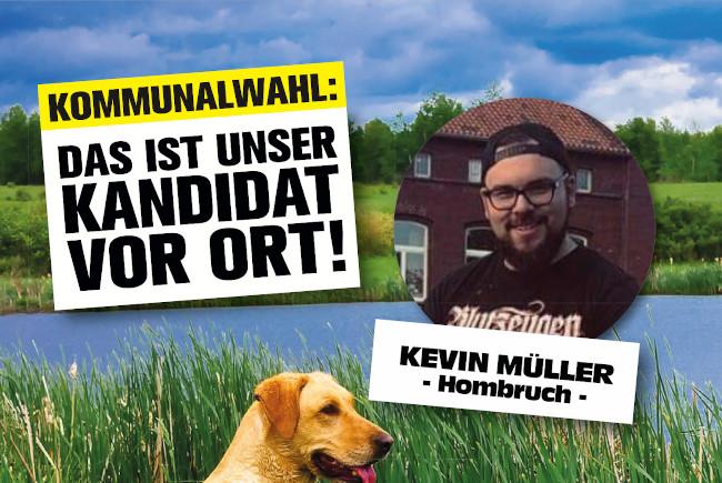 Hombruch Kommunalwahl: Kandidaten für die Bezirke – Kevin Müller (Hombruch)
