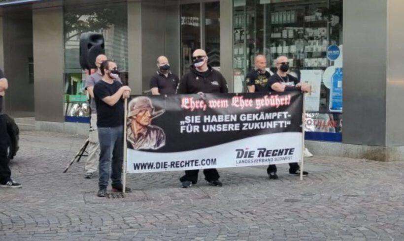 Trauermarsch in Zweibrücken