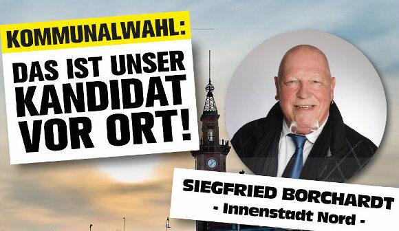 Kommunalwahl: Kandidaten für die Bezirke – Siegfried Borchardt (Innenstadt-Nord)