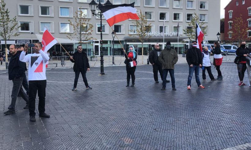 DIE RECHTE – Unterstützung der Kundgebung in Bremerhaven