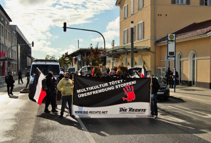 Nachtrag: Demonstration am Tag der Deutschen Einheit in Ingelheim