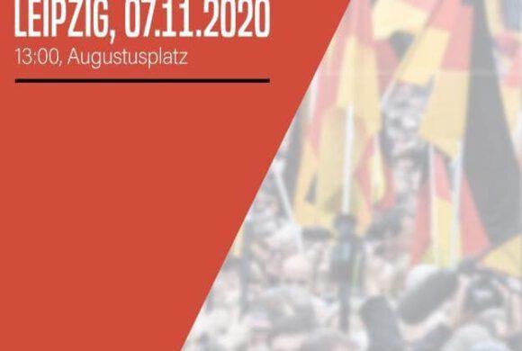 Veranstaltungstipp: Großdemo in Leipzig –  aktualisiert um 20:38 Uhr